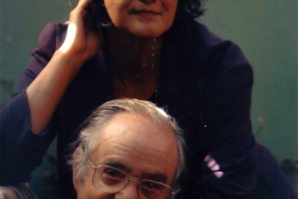 Con Santiago García